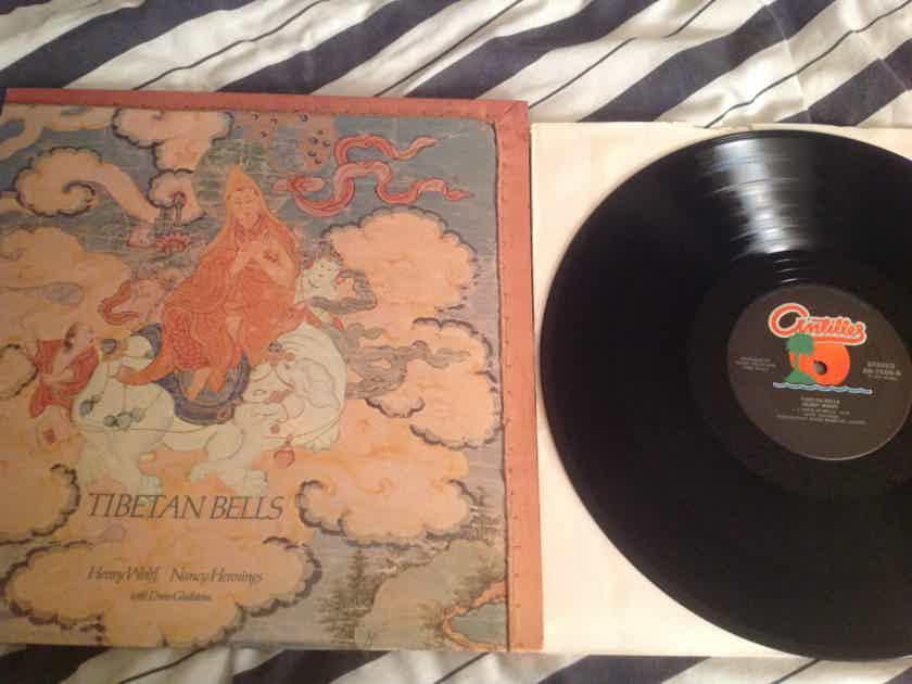 Henry Wolff Tibetan Bells Antilles Records