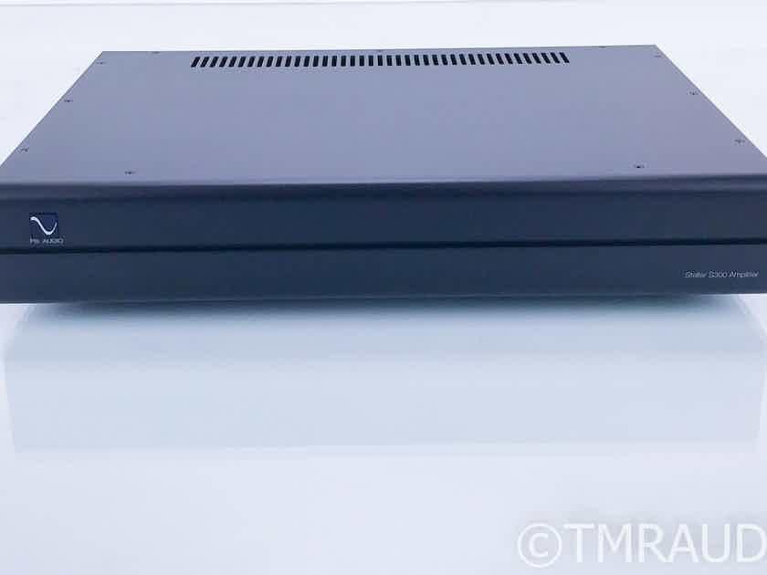 PS Audio Stellar S300 Stereo Power Amplifier Black; Warranty (16824)