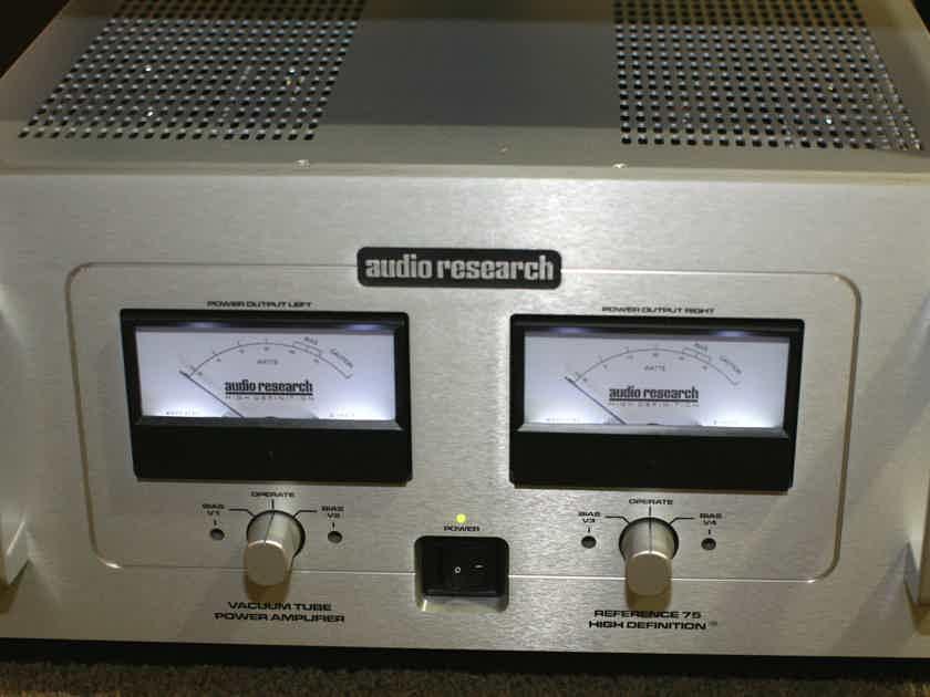 Audio Research Reference 75 75 Watt Amplifier w/meters