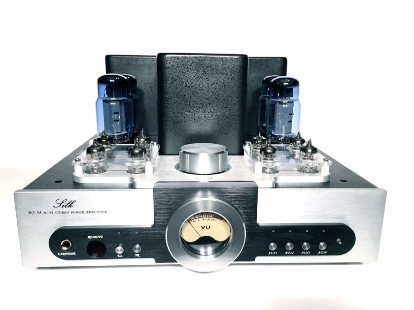 Silk Audio (by Yaqin) MS38SE 6CA7 Blue Glass Tube Integrated Amp