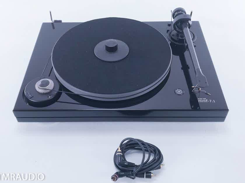 Music Hall MMF-7.1 Turntable; Pro-Ject Carbon Tonearm (No cartridge or dustcover) (11742)