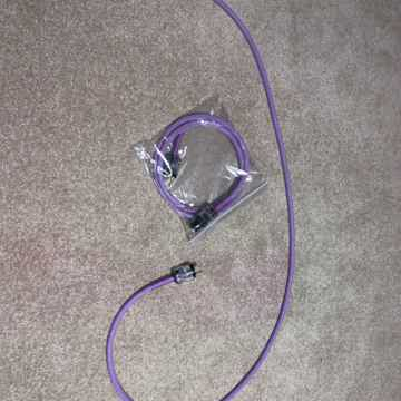 Black Sand Cable VIOLET Z1 MKII 2 METER