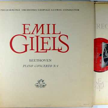 EMIL GILELS BEETHOVEN PIANO CONCERTO NO. 4 - ANGEL 35511