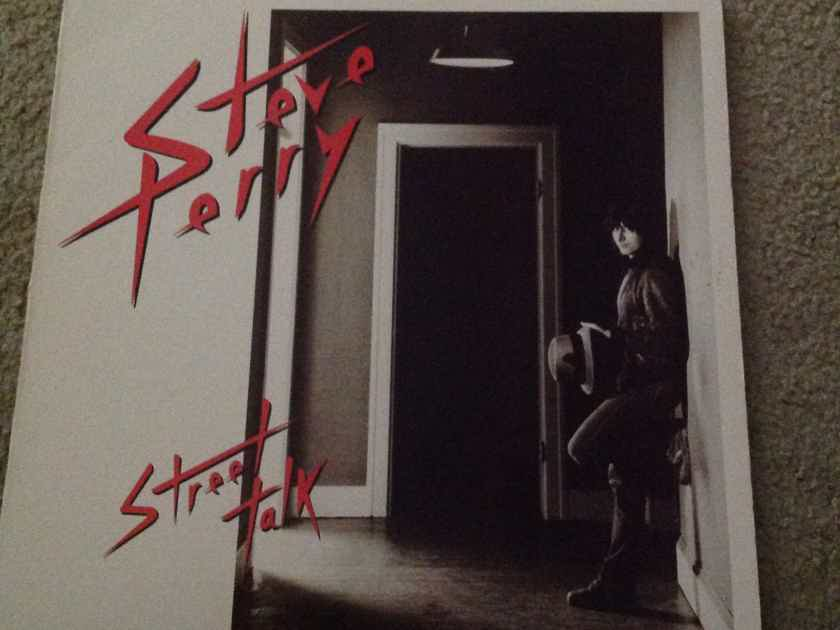 Steve Perry - Street Talk Columbia Records Journey Lead Singer Vinyl LP NM