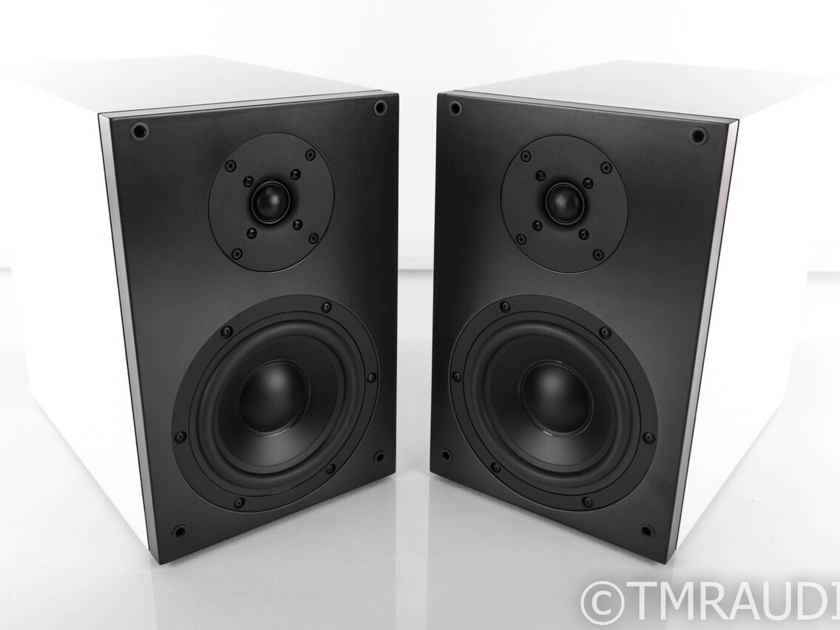 Studio Electric M4 Bookshelf Speakers; White Pair (21731)