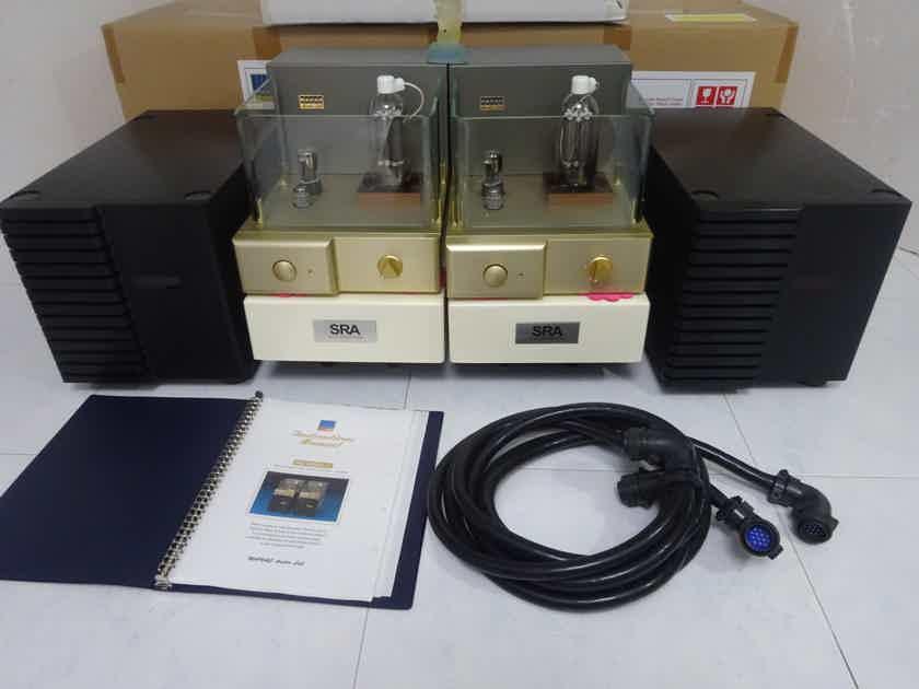 WAVAC Audio MD-805 mkII + SRA amp stand + rare tubes  - 230v