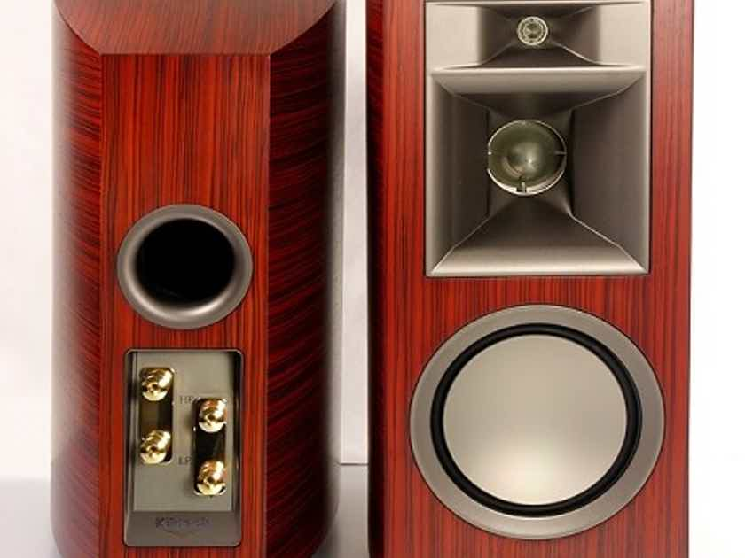 Klipsch Palladium P 17b Bookshelf Speakers Pair MERLOT W Free