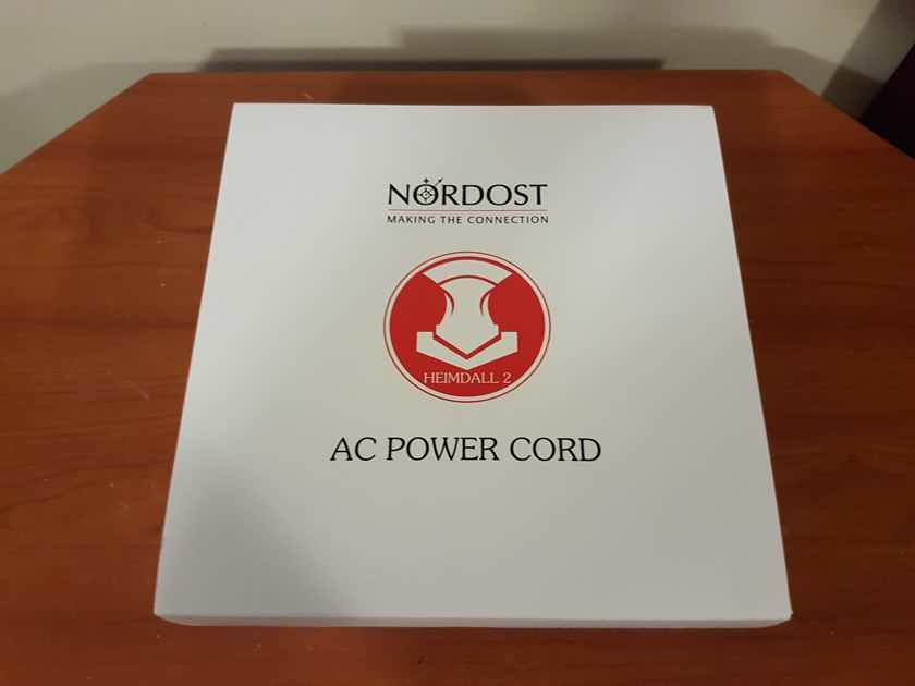 Nordost Heimdall 2 Power Cable. 2 Meters.
