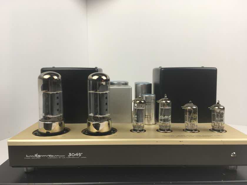 Luxman MB-3045 Tube Mono-block Amps With Luxman/NEC Tubes
