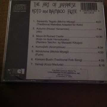 The Art Of Japanese Koto And Bamboo Flute
