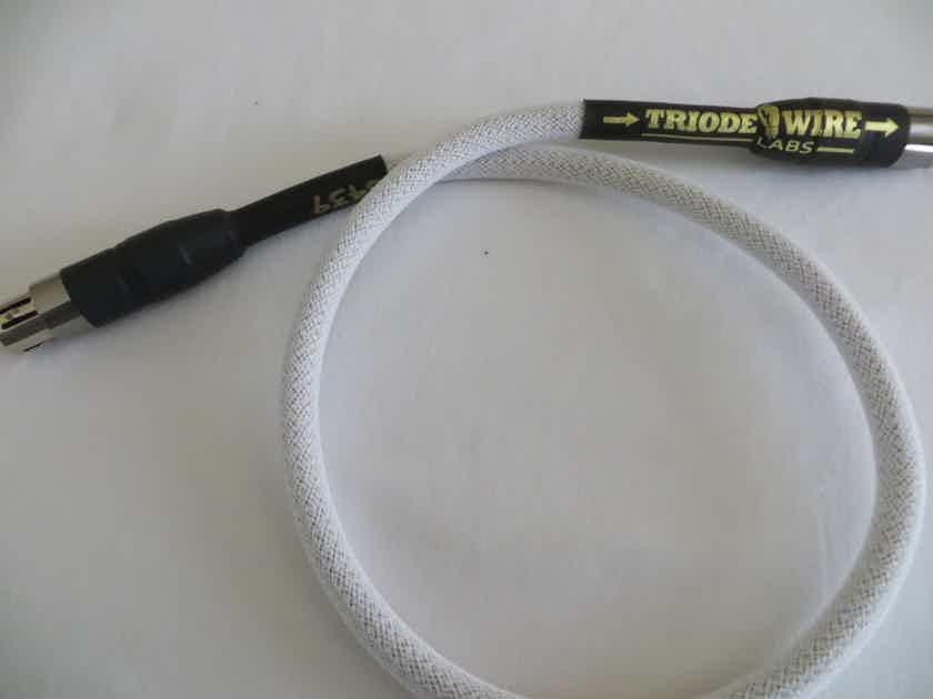 Triode Wire Labs ''Spirit 110' .75m AES/EBU Digital Bale