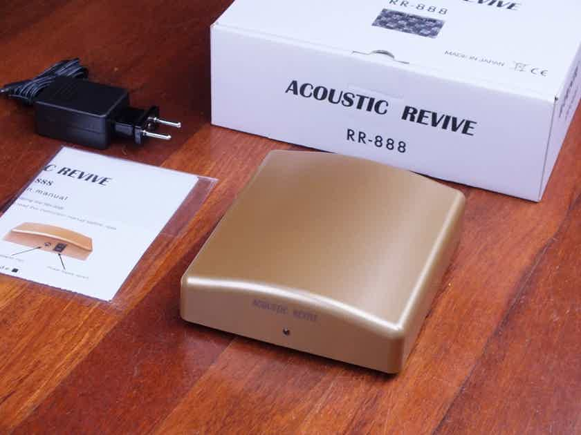 Acoustic Revive RR-888 Ultra Low-frequency Pulse Generator BRAND NEW