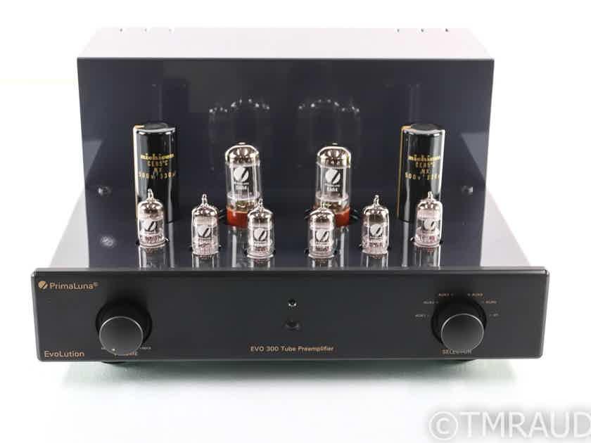 PrimaLuna EvoLution EVO 300 Stereo Tube Preamplifier; Remote (27986)