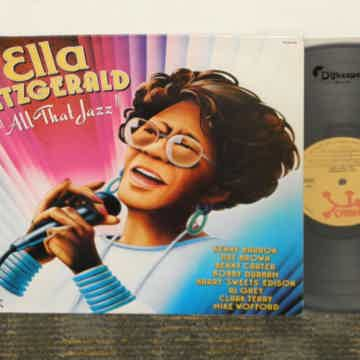 "Ella Fitzgerald ""All That Jazz"" German pressing"