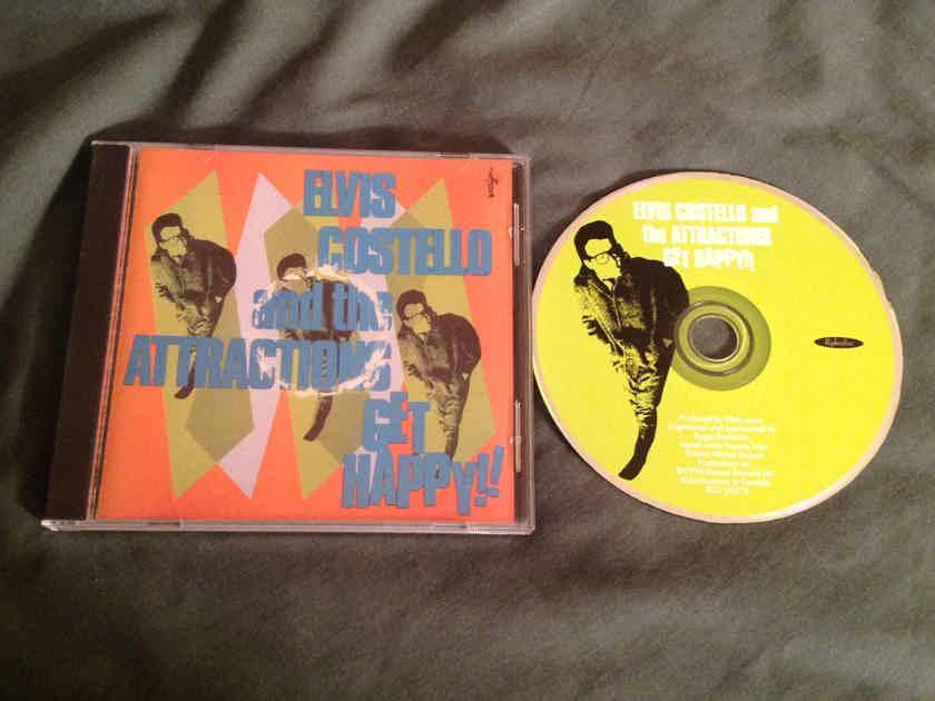 Elvis Costello  Get Happy!! 30 Track Version Rykodisc