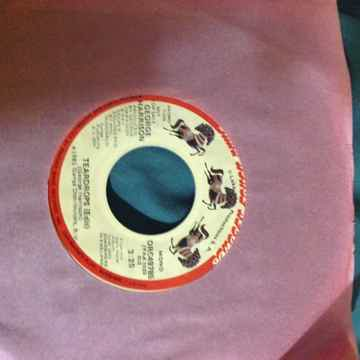 George Harrison - Teardrops(Edit) Promo 45  Single Mono...