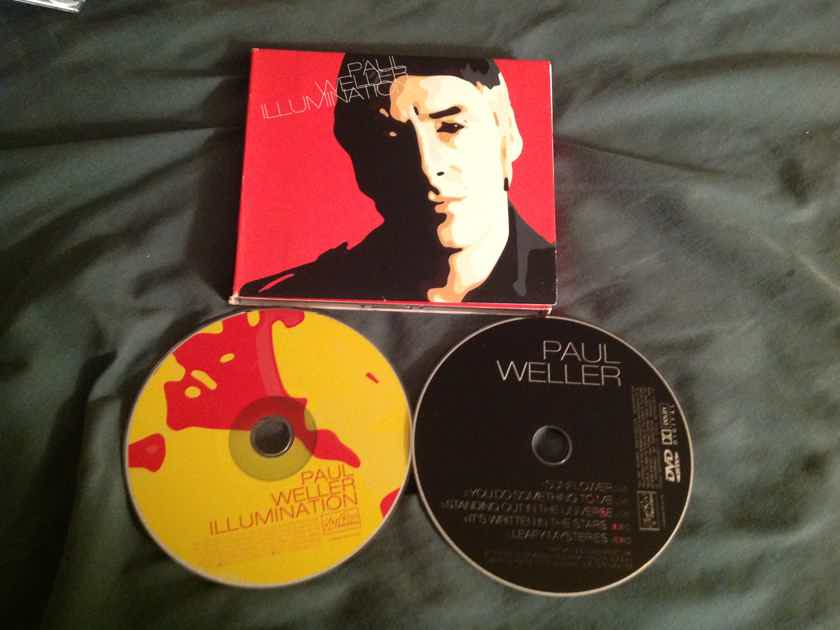Paul Weller Illumination Compact Disc Dvd Combo