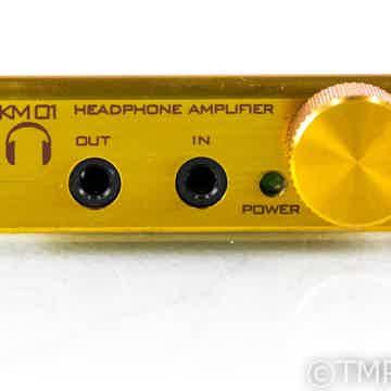 Kojo Technology KM01 Fire Gold Portable Headphone Amplifier