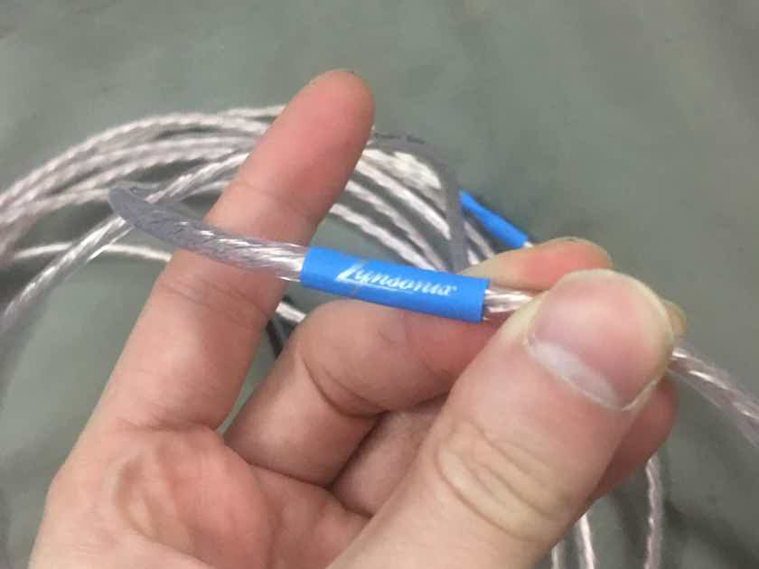 Zynsonix Ballista Cable TOTL UP-OCC for Focal Clear Headphone- 15ft Furutech/Neutrik - FREE SHIPPING IN USA