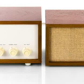 Model 13 Vintage Stereo Preamplifier w/ Speaker