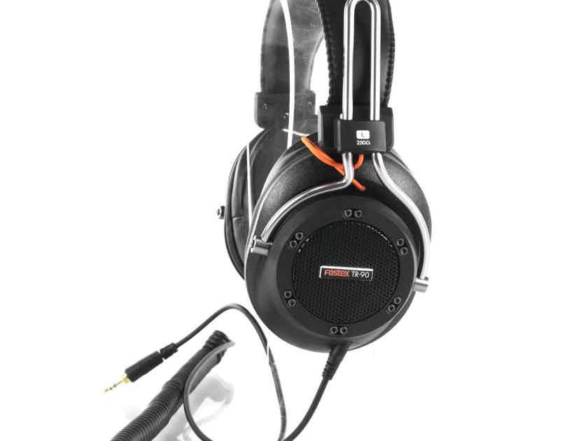 Fostex TR-90 Semi-Open Back Studio Headphones; TR90 (21435)