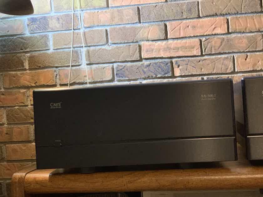 Cary Audio SA 500.1 500 watt mono amplifiers