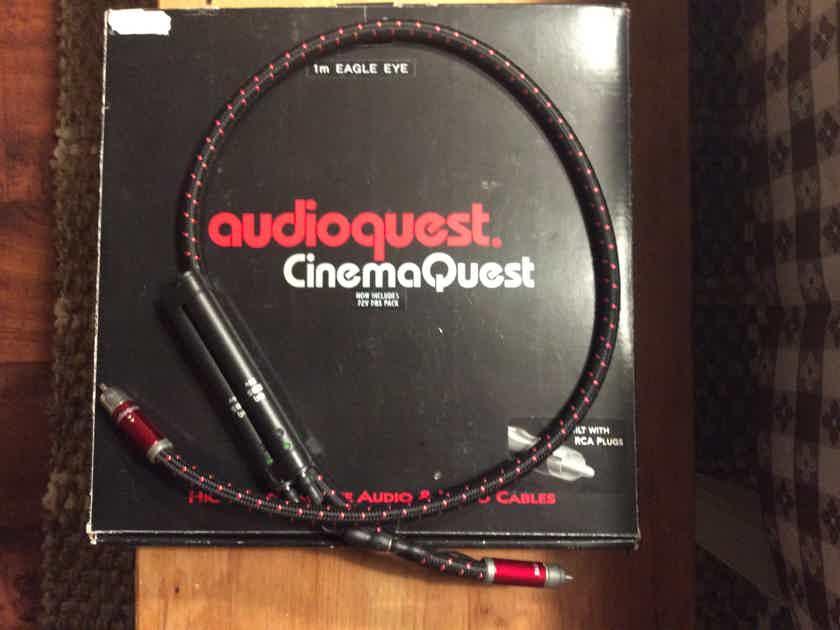 AudioQuest Eagle Eye Digital  RCA Cable 72v DBS 1m