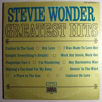 Stevie Wonder - Greatest Hits - CRC Club Edition Tamla 282