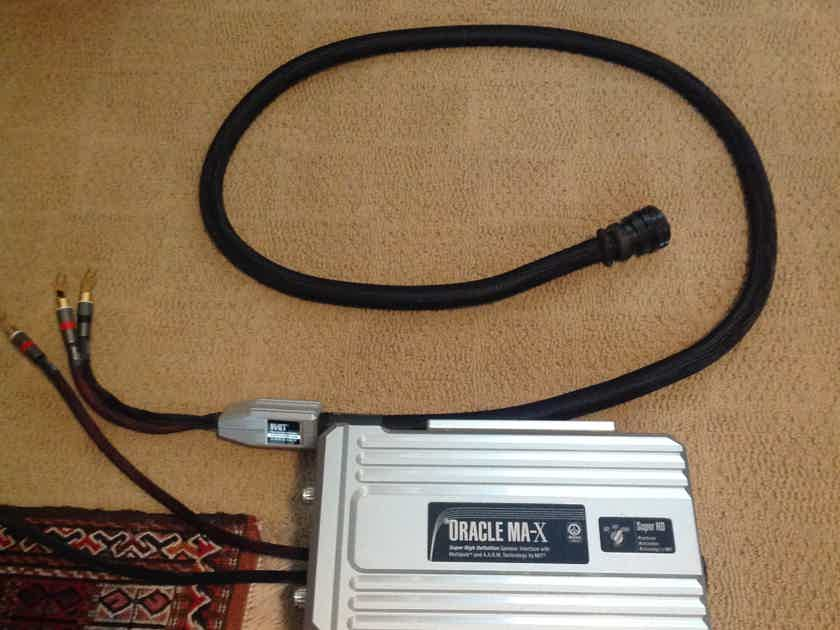 MIT Oracle MA-X-SHD 8' Reference Speaker Cables