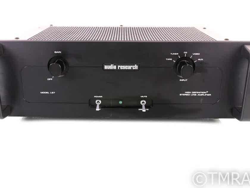 Audio Research LS7 Stereo Tube Preamplifier; LS-7; Black (20057)