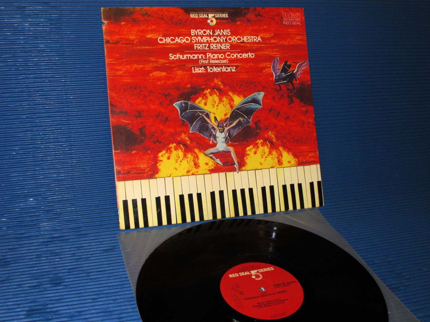 "SCHUMANN / LISZT / Reiner / Janis  - ""Piano Concerto/Totentanz"" -  RCA .5 Audiophile Series 1983"