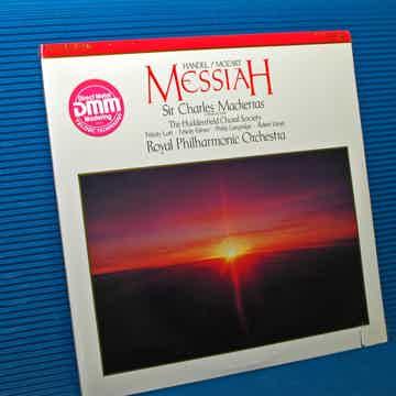 """HANDEL / MOZART / Mackerras   - """"MESSIAH"""" -  RCA 1988 D..."""