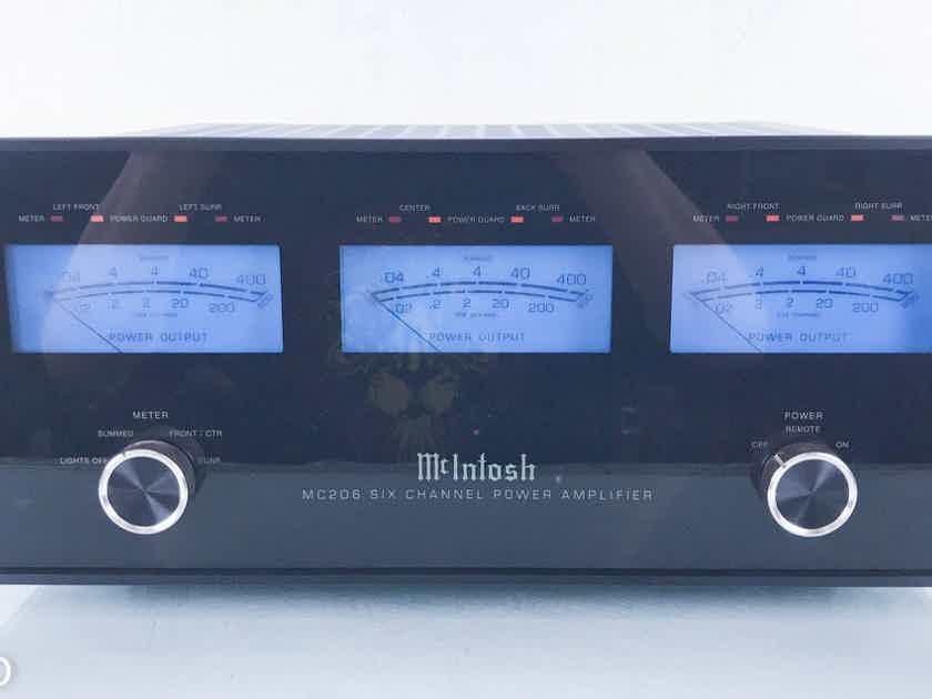 McIntosh MC206 6 Channel Power Amplifier (2/2)  (14156)