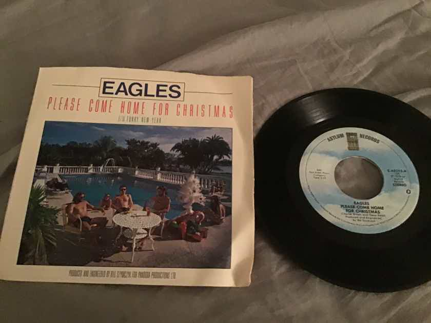 Eagles  Please Come Home For Christmas 45 With Picture Sleeve Vinyl NM