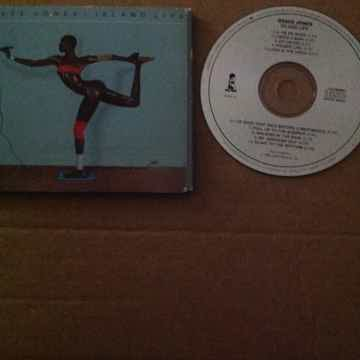 Grace Jones  - Island Life Island Records Japan For USA...