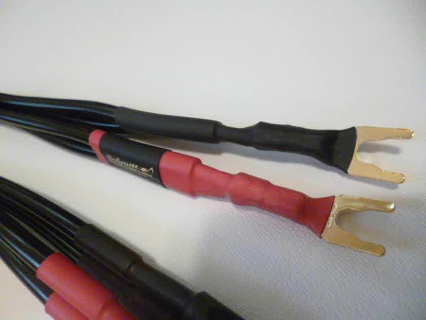 Schmitt Custom Audio 4mm 6N OCC Copper Bi-wire Speaker Cables 6ft 1 Pair
