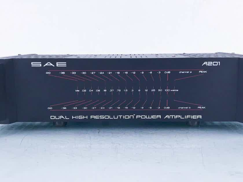 SAE A201 Stereo Power Amplifier A-201 (14222)
