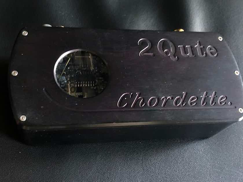 Chord 2Qute DAC with MCRU PSU - Black - Excellent
