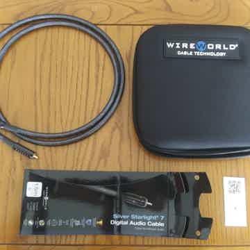 1.5m Wireworld Silver Starlight 7  Coaxial Digital