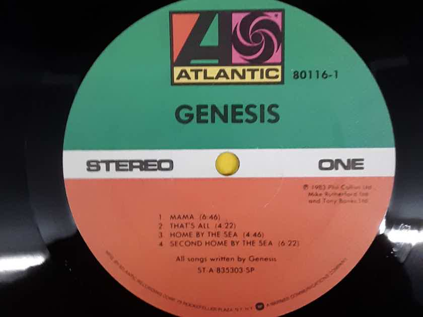 Genesis - Genesis 1983 NM Vinyl LP SRC Pressing  Atlantic Records 80116-1