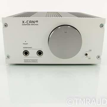 X-CAN V8 Tube Headphone Amplifier
