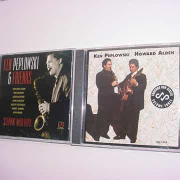 2 CD'S CD Ken Peplowski & Friends and with Howard Alden concord jazz