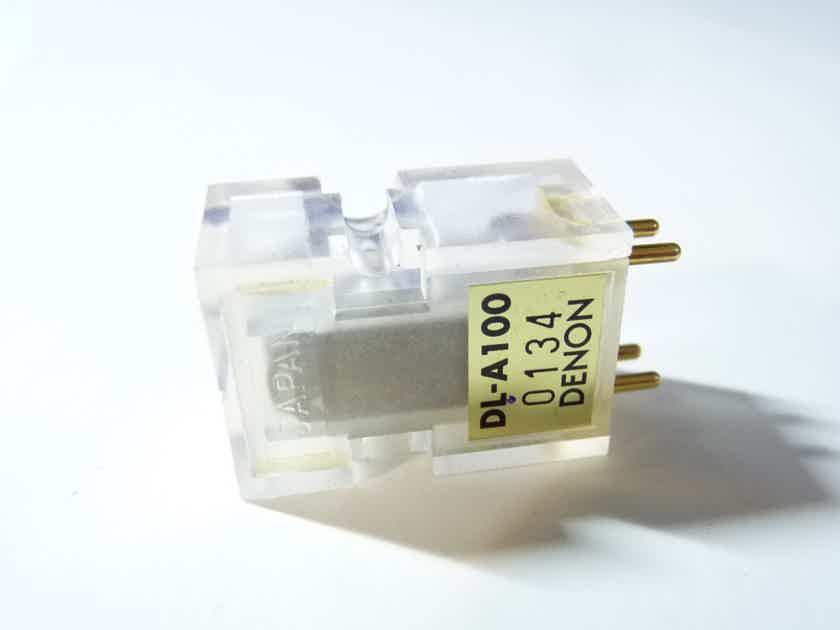 Denon A100 phono cartridge LOMC diamond cantilever new DL-A100