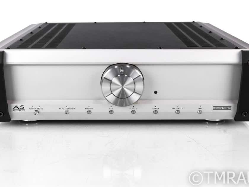 Musical Fidelity A5 Stereo Integrated Amplifier; A-5; MM Phono  (No Remote) (20111)