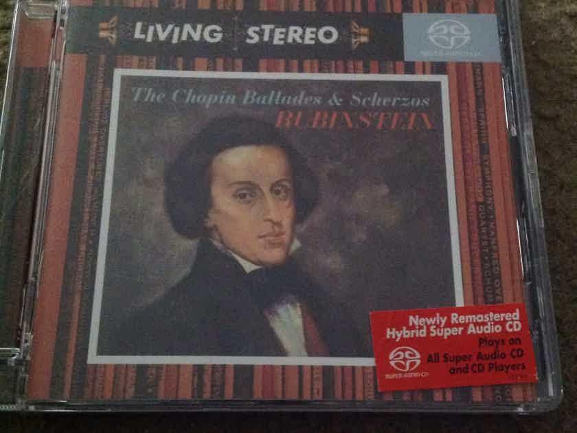 Arthur Rubinstein  - The Chopin Ballades & Scherzos RCA Living Stereo SACD Hybrid Surround Sound