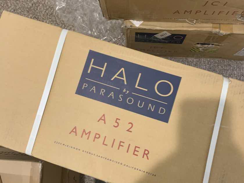 Halo by Parasound A52 BRAND NEW