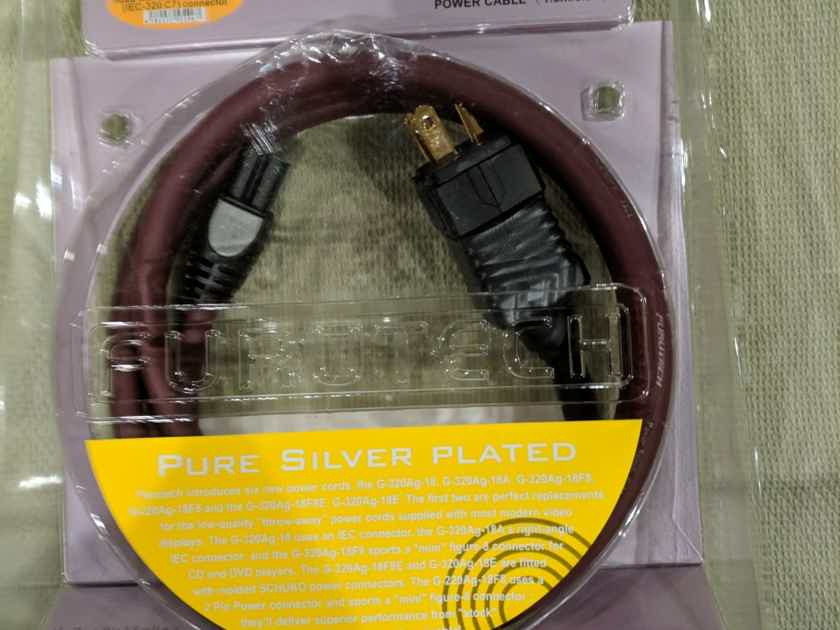 Furutech G-320Ag-18F8 1.8 meter High Performance Power Cable for CD/DVD player