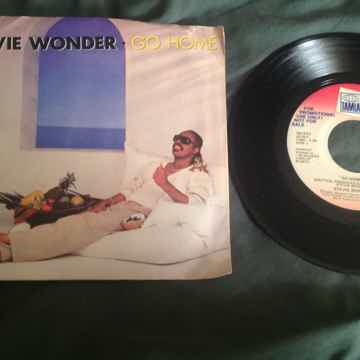 Stevie Wonder Go Home Tamla Records Promo 45 With Pictu...