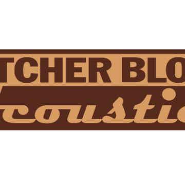 """Butcher Block Acoustics 17"""" X 14"""" X 3"""" Maple End-Grain Audio Platform"""