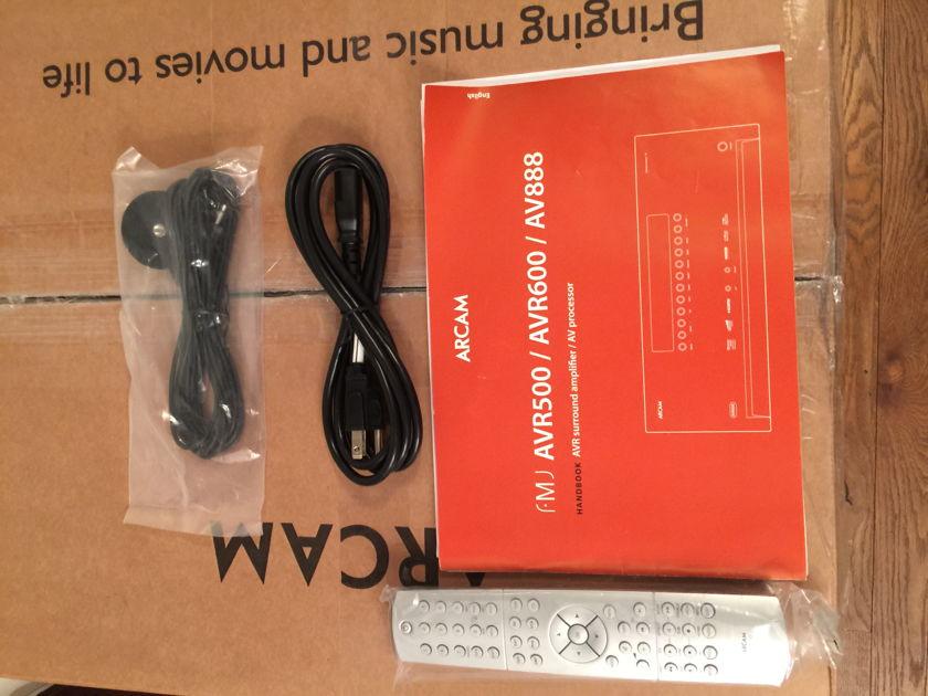 Arcam 888 AV Preamp - Black : Home theatre Preprocessor : HDMI 1.4 version.